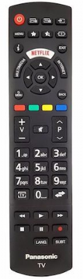Genuine Panasonic 30092557 Tv Remote Control RC-A49128